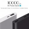 Original Xiaomi Power Bank 2 Type-A 10000mAh Quick Charge 2.0