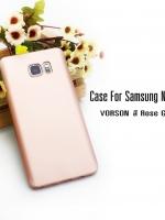 Case Samsung Note 5 สี Rose gold