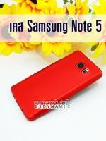 Case Samsung Note 5 สี แดง เมทัลลิค STUFF
