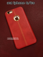 เคสหนัง iphone 6/6s สีแดง VORSON Leather case