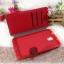 เคส Samsung note 3: MFIT diary case เคสหนังคุณภาพดี สีแดง thumbnail 3