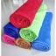 ขายส่ง ผ้าเช็ดตัวนาโน จัมโบ้ สีพื้นอัดลาย (แบบหนา) ส่ง 65 บาท thumbnail 6