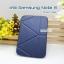 เคสหนัง Samsung note 8 Smart cover (Onjess) สีน้ำเงิน thumbnail 1