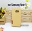 เคส Samsung Galaxy Note 5 ลายยีนส์ ฝาปิด ตั้งแนวนอนได้ สีเหลือง thumbnail 2