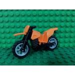 Orange Motorcycle Dirt Bike