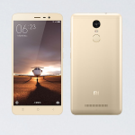 - Redmi Note 3 Mediatek - Ram 3GB Rom 32GB สีทอง