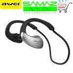 หูฟัง บลูทูธ AWEI A885BL WaterProof Stereo Headset สีเทา