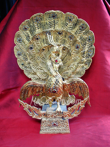 นกยูงทองพม่า