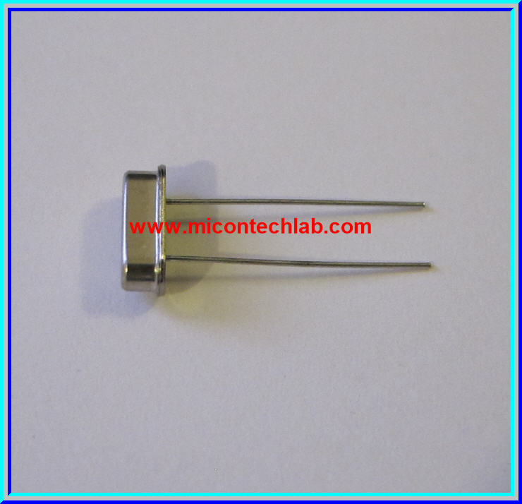 1x Crystal 10 MHz HC49S Metal Package