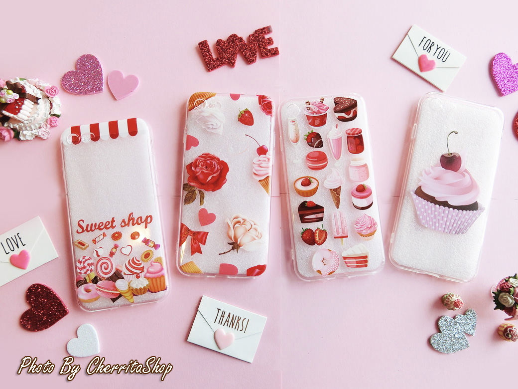 เคสไอโฟน 7/8 Soft Jelly Sweet Dessert IP001