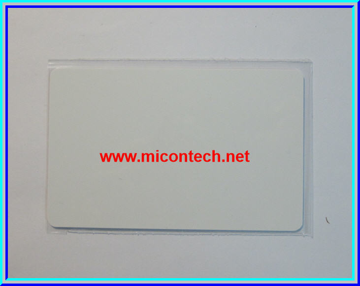 1x แผ่นการ์ดแทกอาเอฟไอดี Mifare 13.56 MHz 1K s50 (RFID IC Card Tags Mifare 13.56MHz 1k S50)