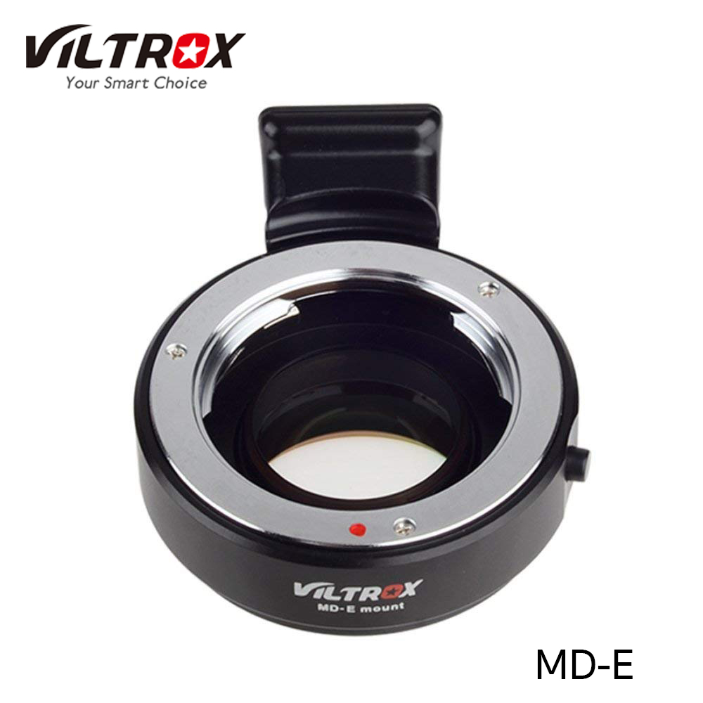 Viltrox MD-E mount f/booster Lens Mount Adapter for Minolta MD Lens to Sony E-Mount Camera Enlarge Aperture