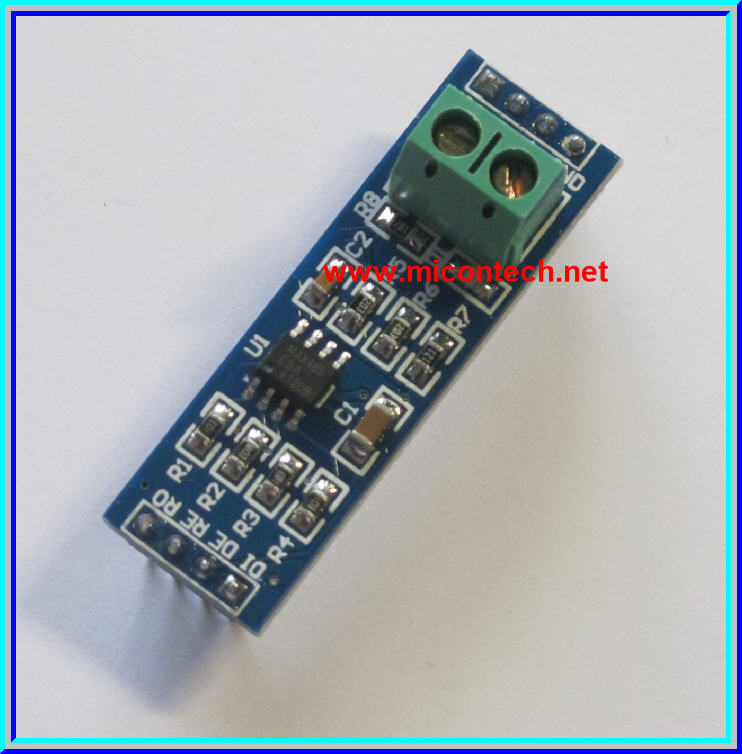 1x TTL To RS-485 ( RS485 ) MAX485 module