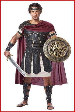 ชุดนักรบโรมัน Gladiator