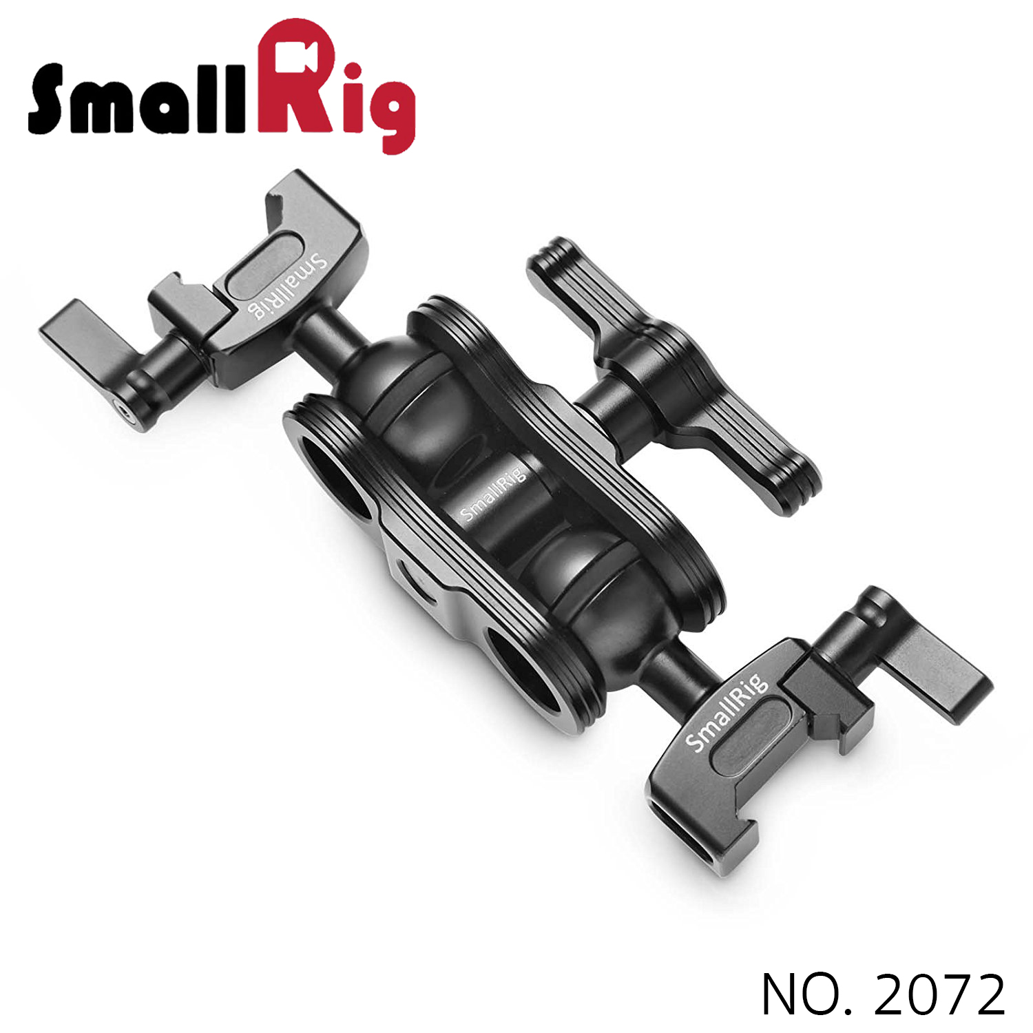 SMALLRIG® Articulating Arm with Double Ballheads(NATO Clamp) 2072