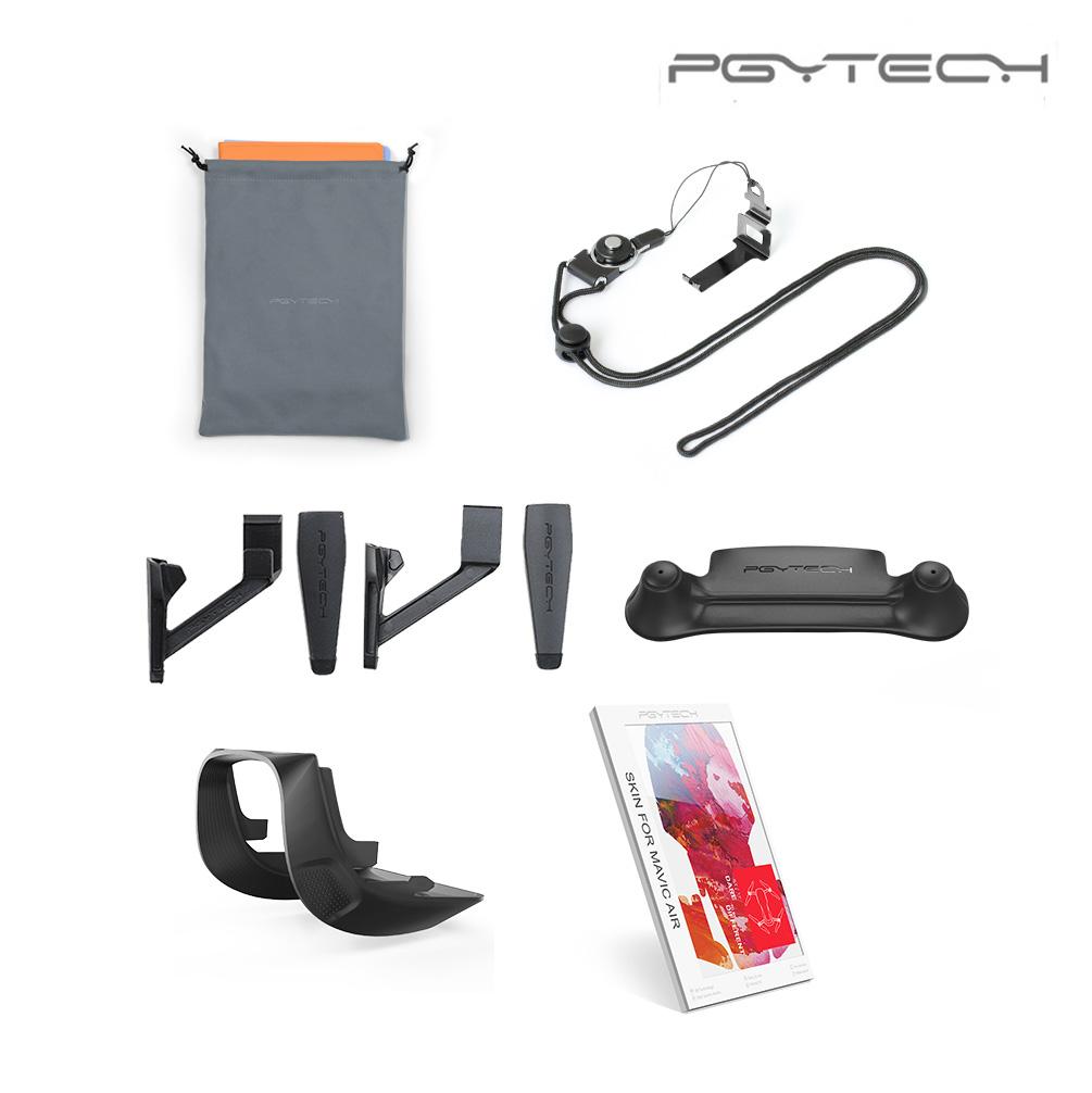 PGYTECH Mavic Air Accessories landing gear Extensions lens hood for DJI MAVIC AIR landing pad Combo Accessories (Standard)