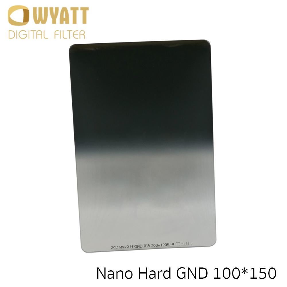 WYATT 100x150mm Hard Graduated MC GND 0.9 ND8 Glass Filter