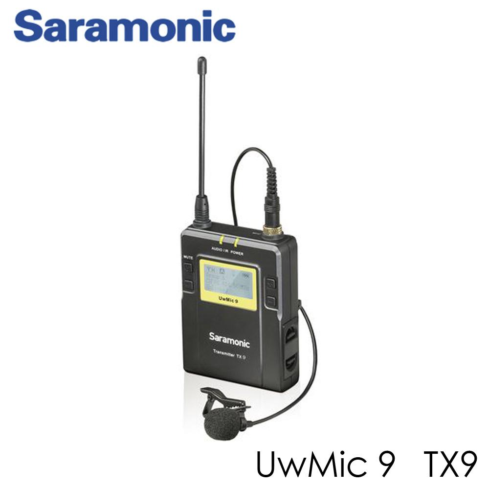 Saramonic UWMIC9 96-Channel transmitters Digital UHF Wireless Lavalier Microphone System