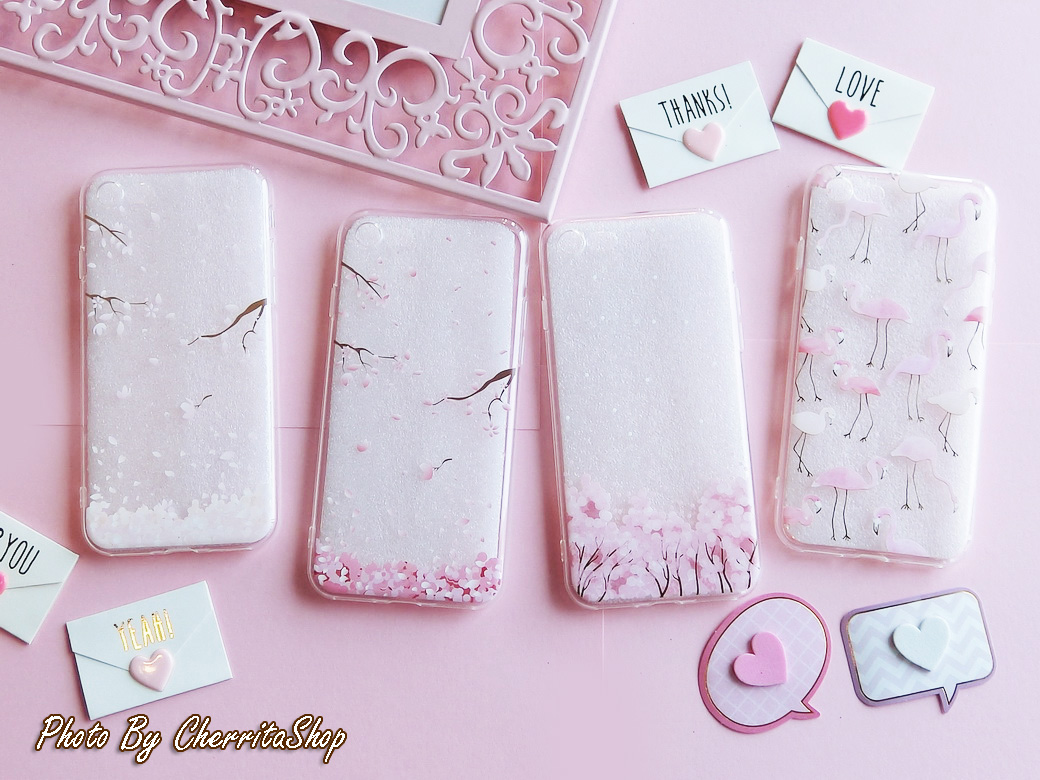 เคสไอโฟน 7/8 เคสไอโฟน เคสไอโฟน7 เคสไอโฟน8 Iphone8 iphone7 iphone case Pink Sakura IP003