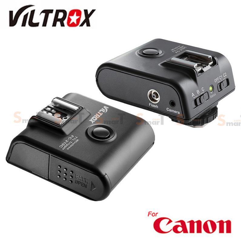 Flash Trigger VILTROX FC-210C for Canon Auto E-TTL II