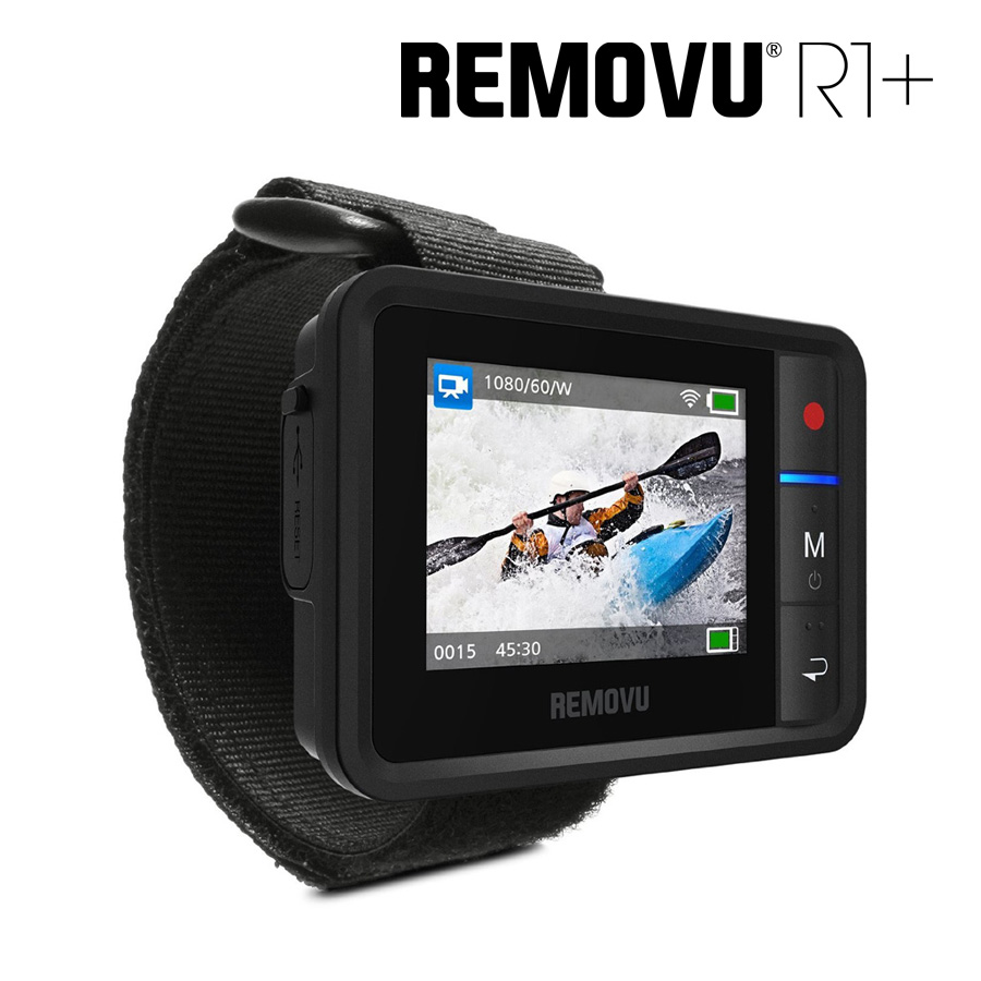 Removu R1+ Wearable Waterproo Wi-Fi Live Viewer and Remote Control for GoPro Hero 3/3+/4/4 Session