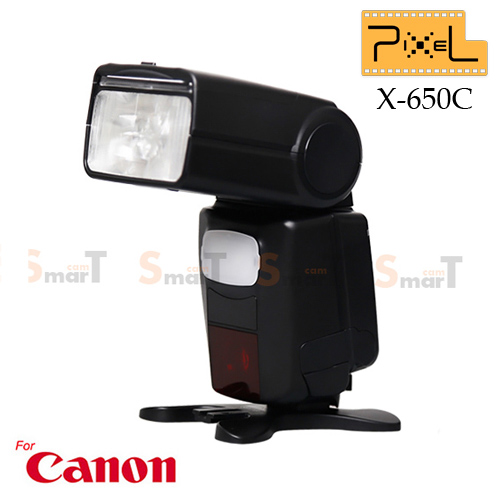 Speedlight Mago X-650c X650c Canon Auto E-TTL II GN.65 Speedlight Hi-Speed Sync 1/8000 LCD Panel