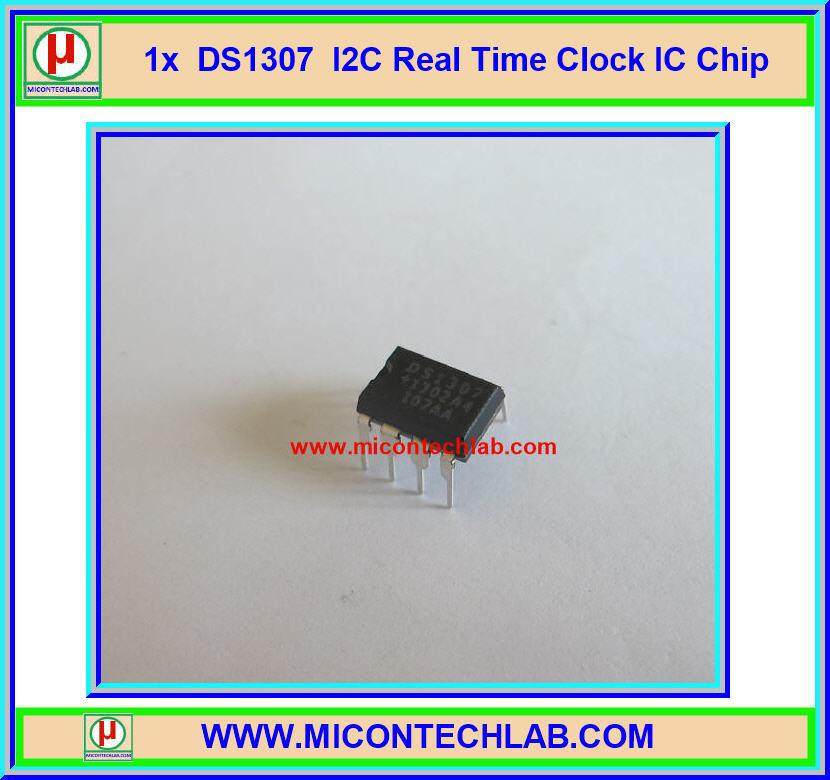 1x ไอซีฐานเวลาจริง DS1307 แบบ I2C (Real-time Clock IC Chip)