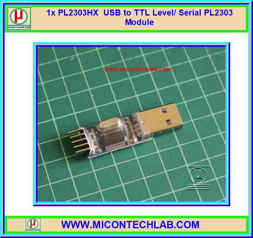 1x PL2303HX USB to TTL Level/ Serial PL2303 Module