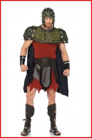 ชุดนักรบโรมัน กรีก