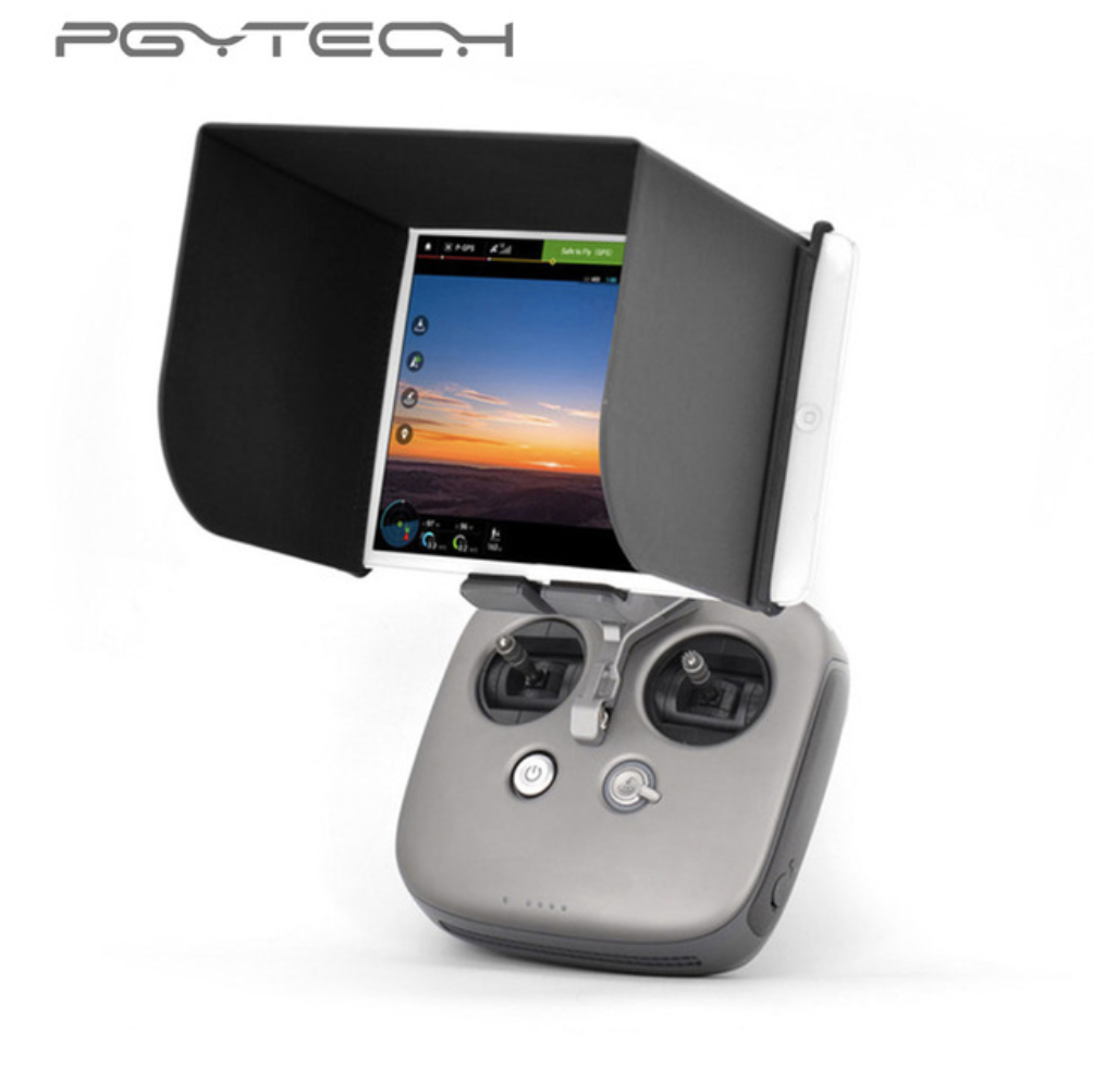 PGYTECH Remote Control Sunshade For Mavic pro Phantom 4 pro Inspire M600 Osmo Monitor Hood For 12.9 Inch Pad L270