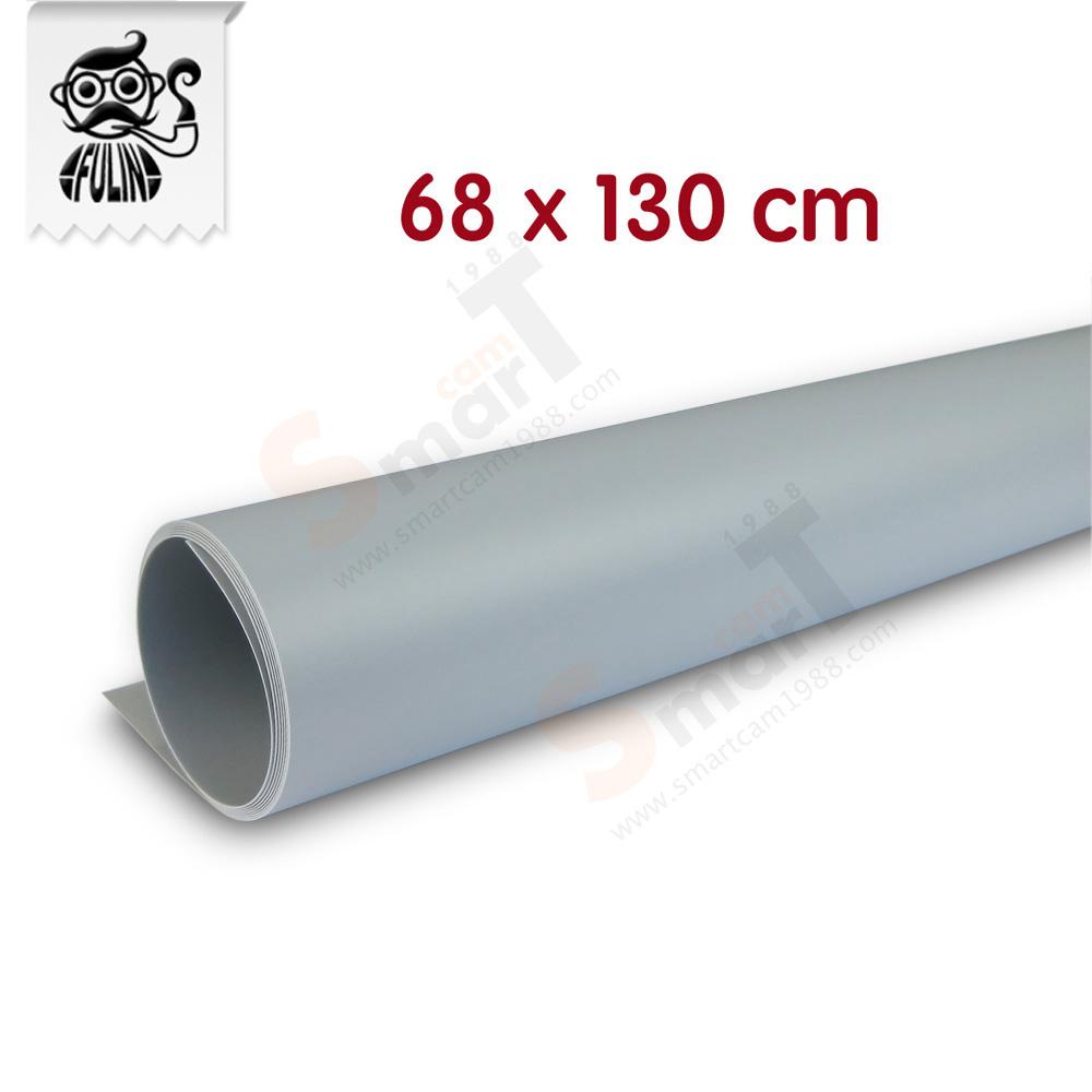 แผ่น PVC Background 68x130 cm สีเทา