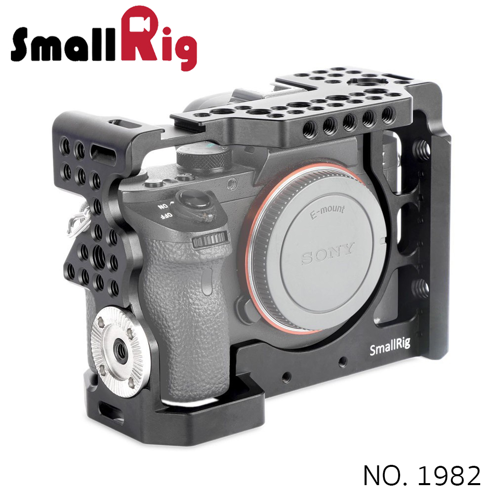 SMALLRIG® SONY A7II/A7RII/A7SII CAMERA CAGE WITH 1/4'' AND 3/8'' THREADED HOLES