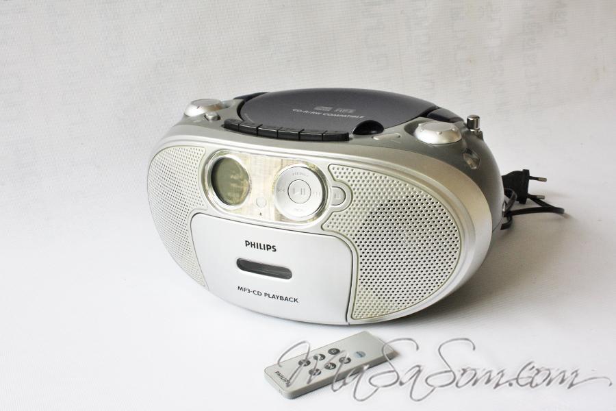 วิทยุซีดี กระเป๋าหิ้ว รุ่น AZ1037 ฟิลิปส์