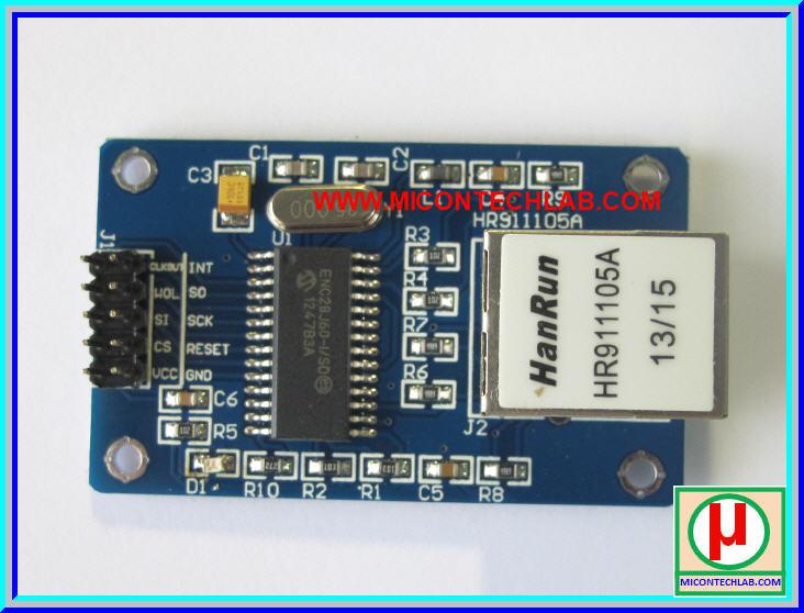 1x ENC28J60 Ethernet LAN Network Module