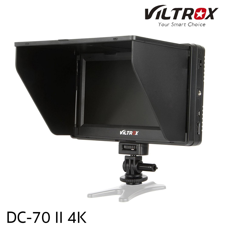 """Viltrox DC-70 II 4K HDMI Field Monitor 7"""" TFT LCD HD video Monitor HDMI AV Input"""