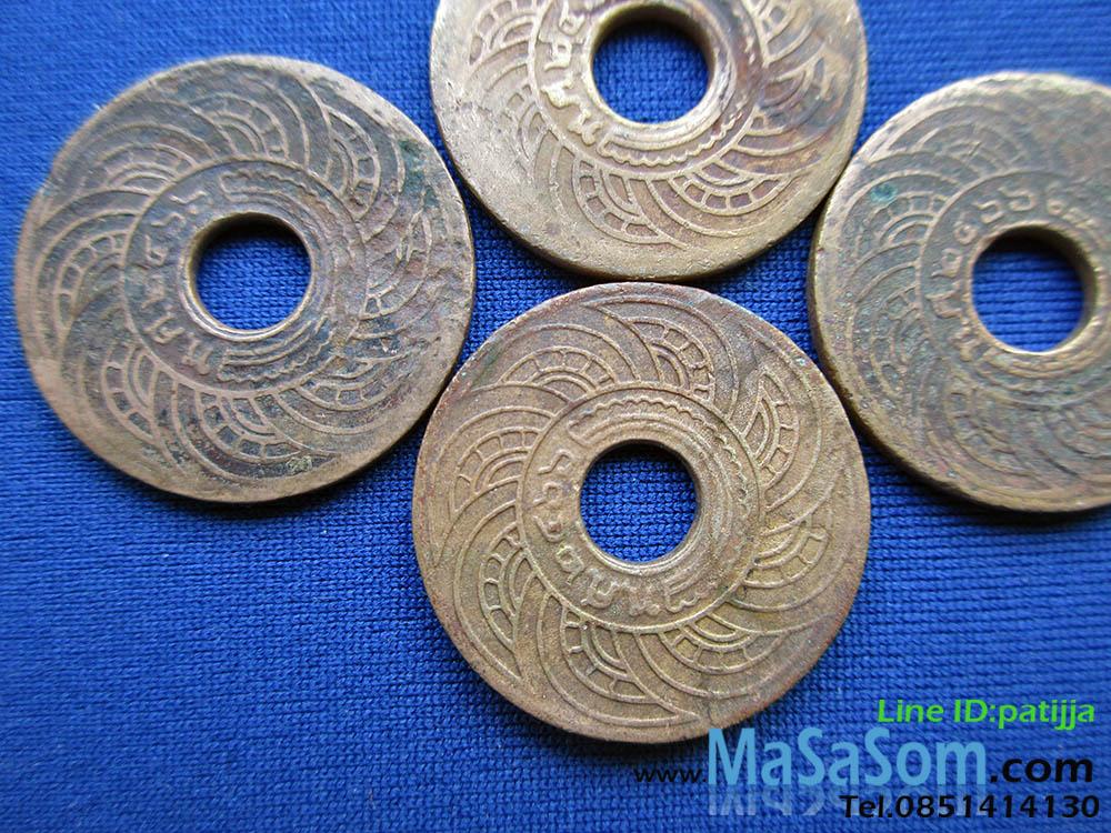 เหรียญ ๑ สตางค์ ปีพ.ศ.๒๔๖๖