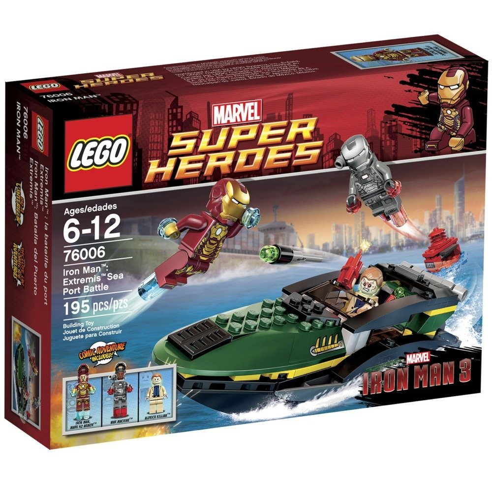 LEGO Super Heroes 76006 : Iron Man Extremis Sea Port Battle