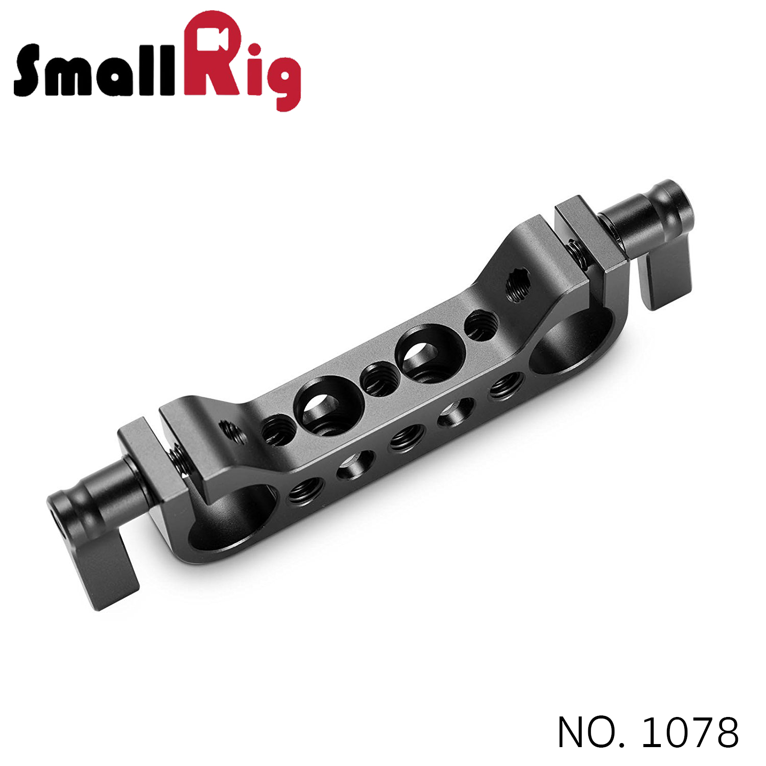 """SMALLRIG® Dual 15mm Rod Clamp with 1/4"""" Threads 1078"""