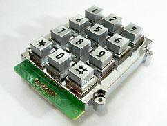 ปุ่มกดเหล็กเหลี่ยม 3x4 UK-01