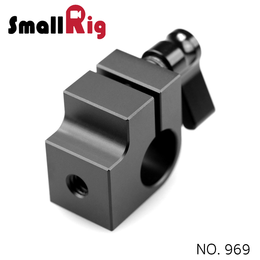 SMALLRIG® Single Rod Clamp - 15mm (2 thread) 842
