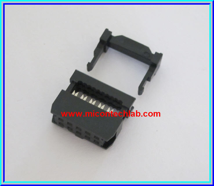 1x Female IDC10 Socket Connector IDC 10 PINS Pitch 2.54mm