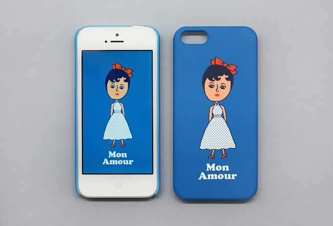 AURORE MON AMOUR SNAP CASE FOR IPHONE 5 V2