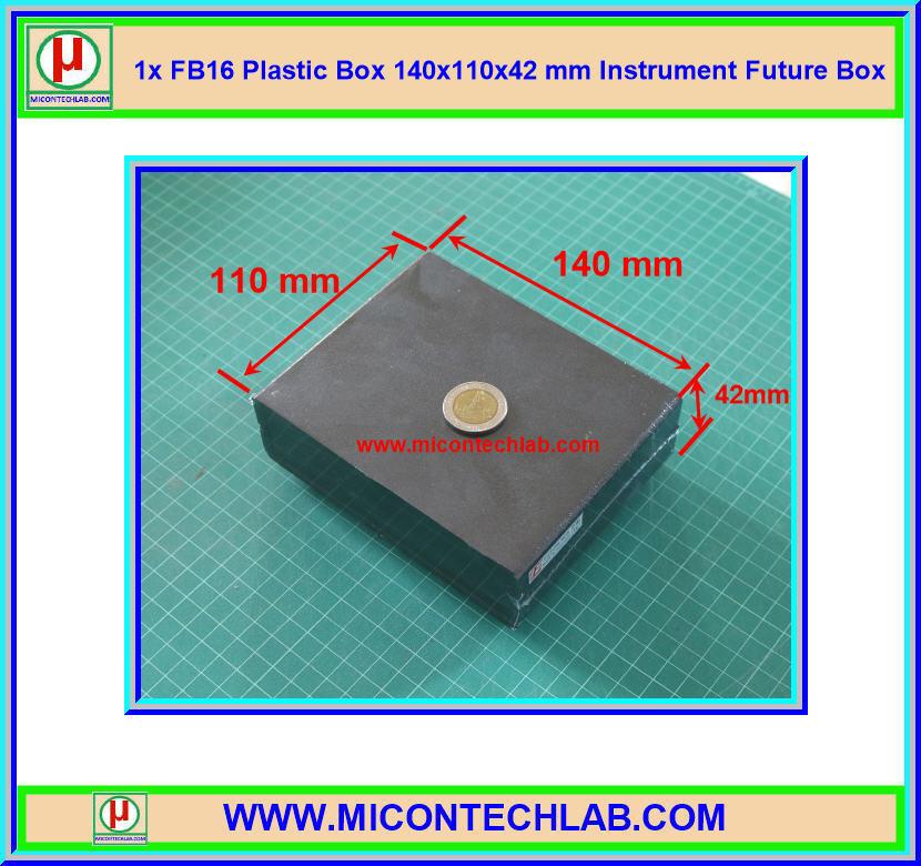 1x FB16 Plastic Box 140x110x42 mm Instrument Future Box