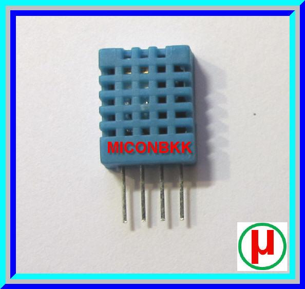 1x เซ็นเซอร์วัดอุณหภูมิ ความชื้น DHT11 (temperature and humidity sensor)