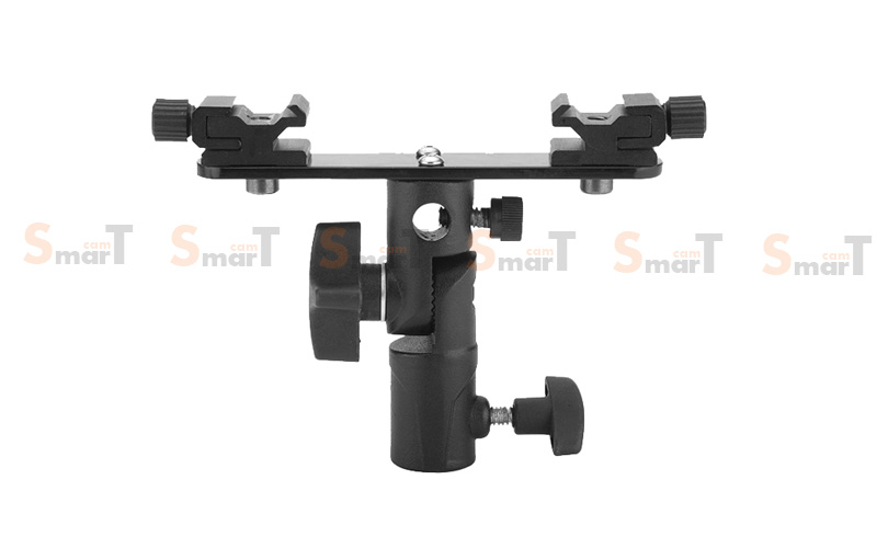 PH21 double flash bracket with umbrella holder