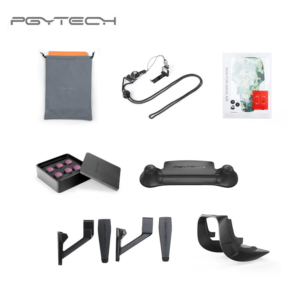 PGYTECH Mavic Air Accessories ND filter landing gear extensions lens hood landing pad Combo Accessories for DJI MAVIC AIR (PRO)