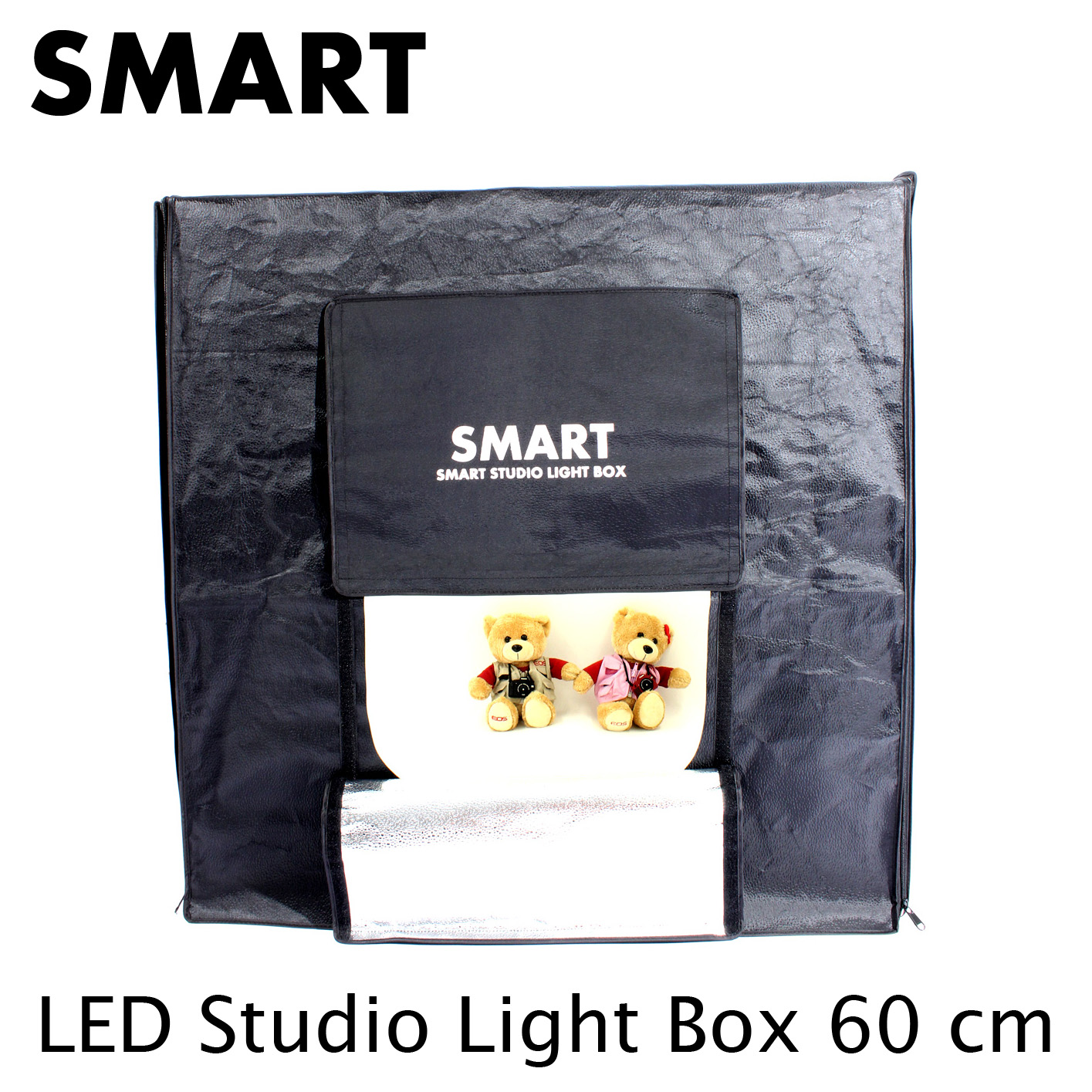 new SMART 60cm LED with Remote Dimmer Studio Light Box