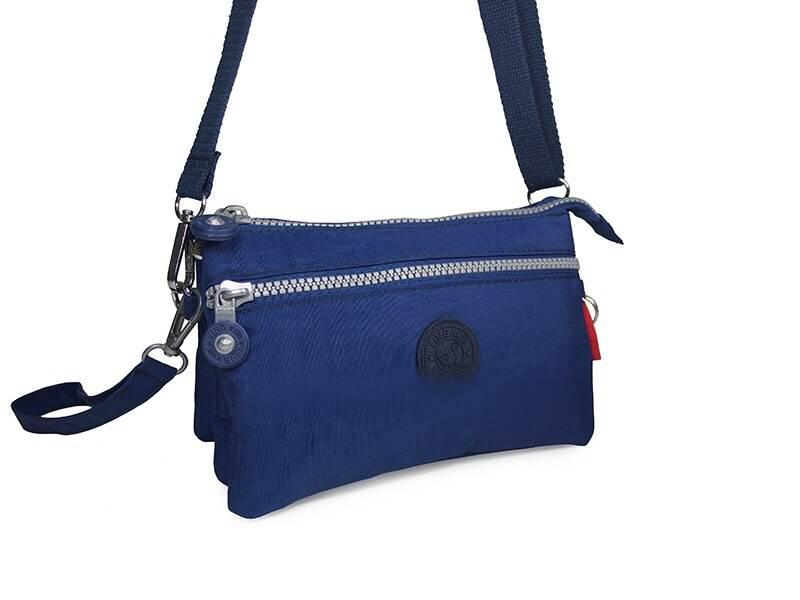 กระเป๋าสะพายข้างสายยาว สีน้ำเงิน