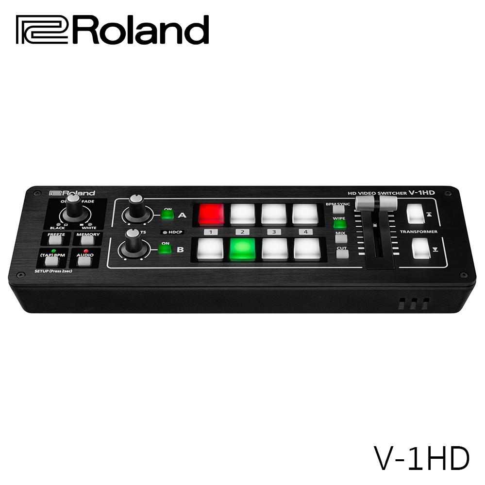 สวิตเชอร์ Roland V-1HD Portable 4 x HDMI Input Switcher