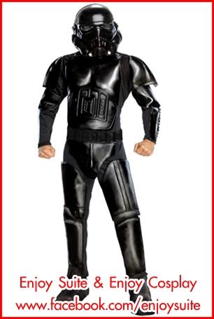 ชุดทหารโคน BLACK SHADOW TROOPER @ Star wars